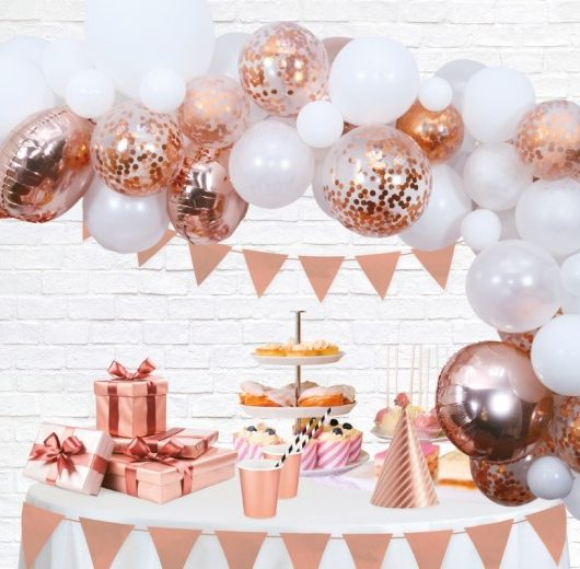 Ballonbue Rose Gold